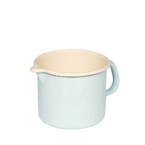 Milchtopf 1,7 l Ø14cm türkis/bunt