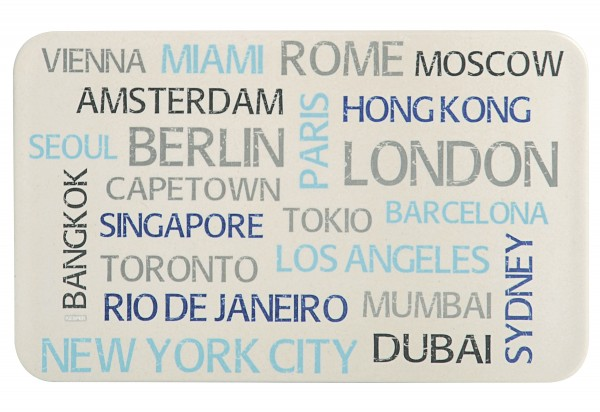 "Brettchen ""World Cities"""