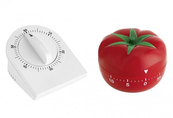 Kurzzeitmesser Form Tomate