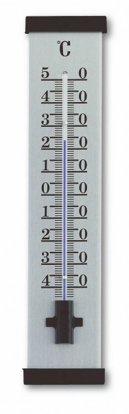 Innen/Außenthermometer Alumium