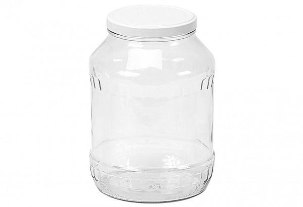 Schraubdeckelglas Gurkenglas mit 100mm TO-Deckel 2650 ml