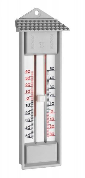 Max-Min-Thermometer 23cm grau