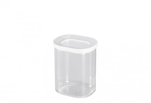 Vorratsdose Modula Mini 375 ml 9x7,2x11,3cm weiß