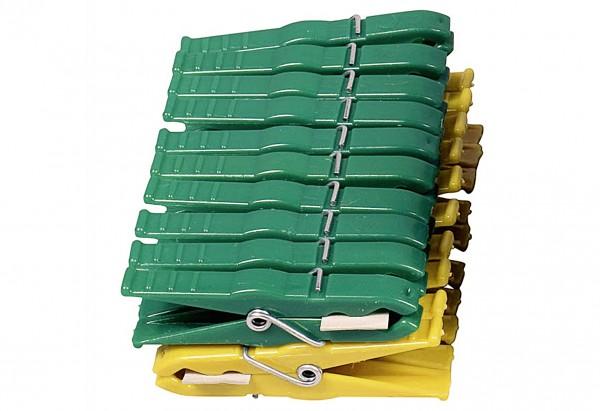 Wäscheklammer Luran farbig sortiert 20er Pack