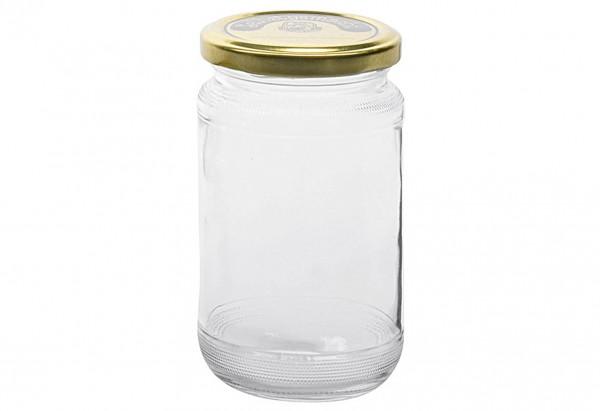 Schraubdeckelglas mit 66mm TO-Deckel selbstgemacht 370 ml