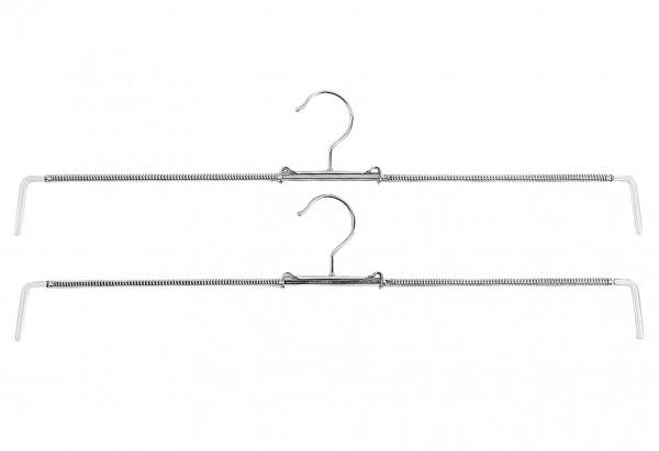 Rockspanner Rofit Metall bis Größe 48 silber 2er Pack