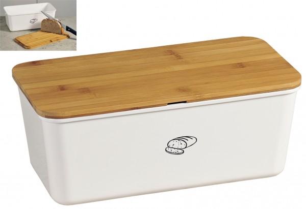 Brotbox 34x18x14cm weiß