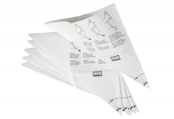 Einweg-Spritzbeutel Patisserie 6er Pack