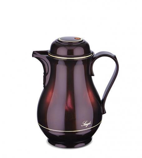 Isolierkanne Single Kunststoff 0,5 l black cherry