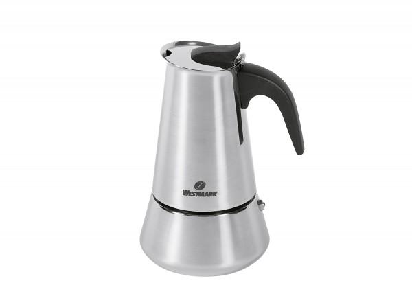 Espressokocher Brasilia Plus Edelstahl 4 Tassen