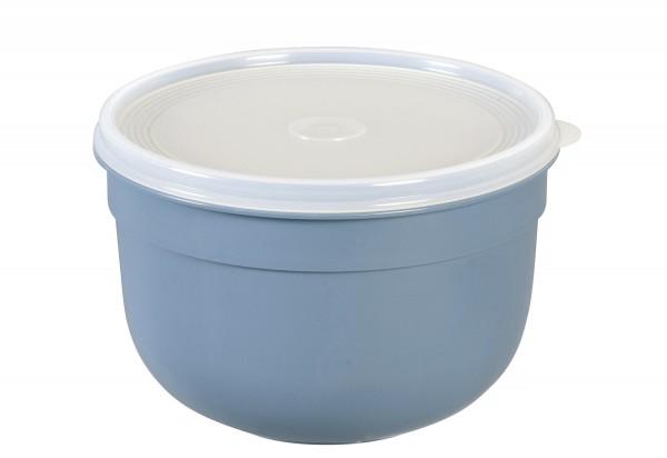 Frischhaltedose Superline Colours 2,25l rund puderblau