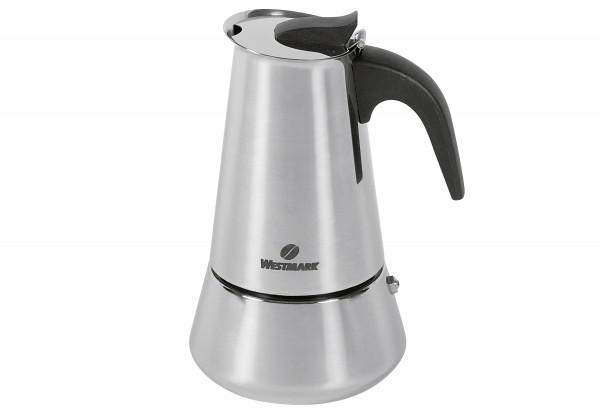 Espressokocher Brasilia Plus Edelstahl 6 Tassen
