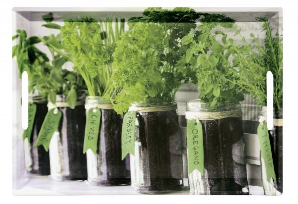 Serviertablett Herbs 48 x 30 x 3,5 cm