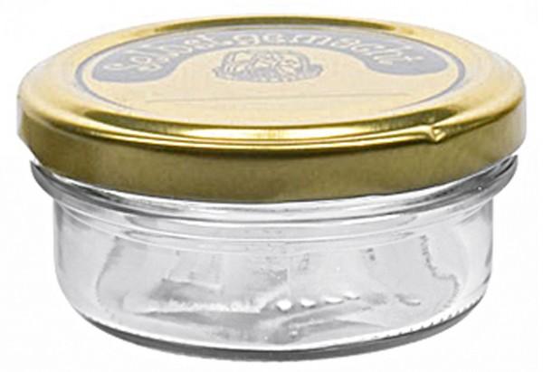 Schraubdeckelglas Sturz mit 66mm TO-Deckel selbstgemacht 70 ml 16er Pack
