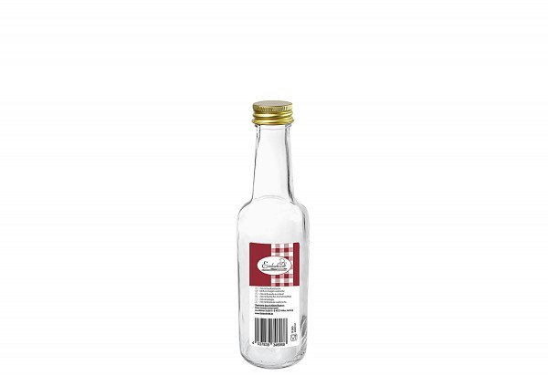 Gradhalsflasche Einkochwelt 250 ml mit 28mm PP-Verschluss