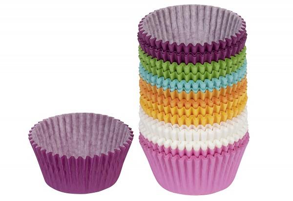 Papierbackförmchen Muffins Easy Baking Ø7cm bunt Pack 200teilig