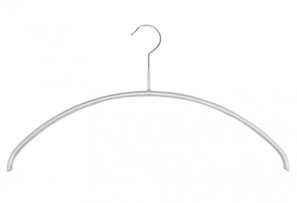 Trocken-Bügel Slim Metall 40cm silber 4er Pack