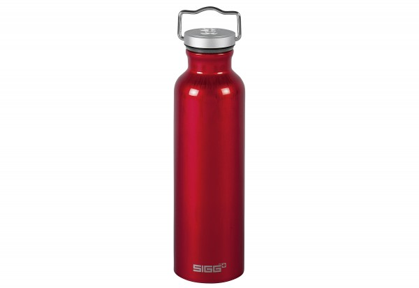 Trinkflasche 0,75l rot