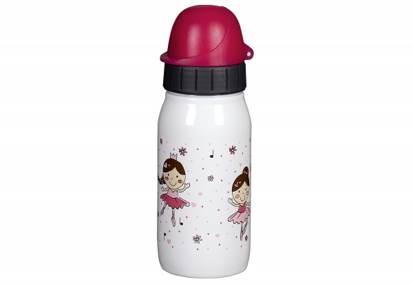 Trinkflasche Iso2Go Kids Balett 0,35l white