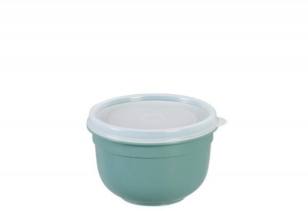 Frischhaltedose Superline Colours 0,6l rund pudergrün