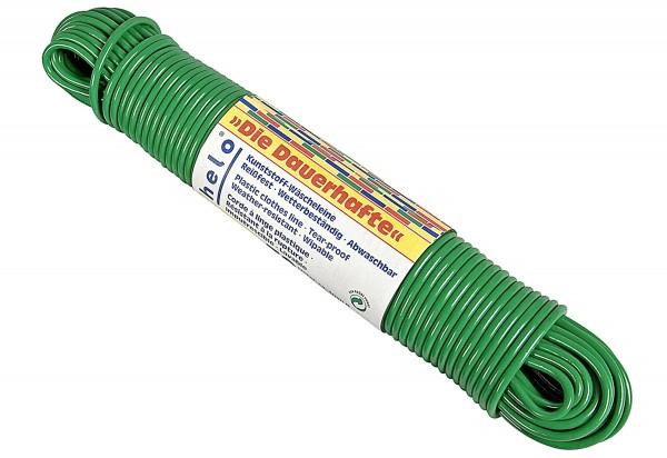 Wäscheleine Plastik 30m Ø4mm farbig sortiert