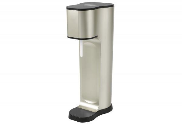 Wassersprudler Joy 2 Glaskaraffen 850ml mit Bottle Shirt CO2-Zylinder champagner