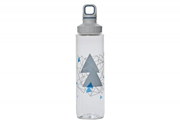 Trinkflasche Tritan ScrGeometry 0,7l transparent