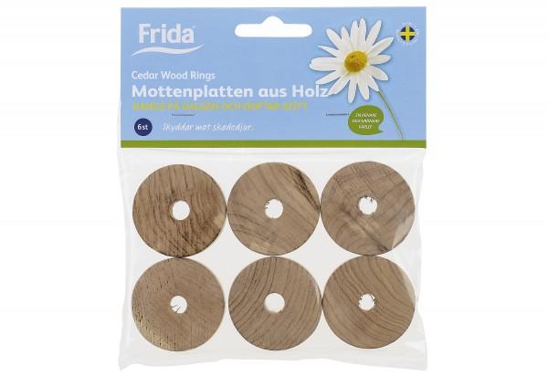 Mottenkugeln für Kleiderbügel Holz 6er