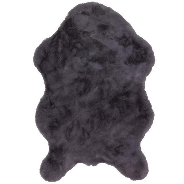 Teppich Kunstfell Tender Nutzschicht 100% Polyester 60x90cm shape anthrazit