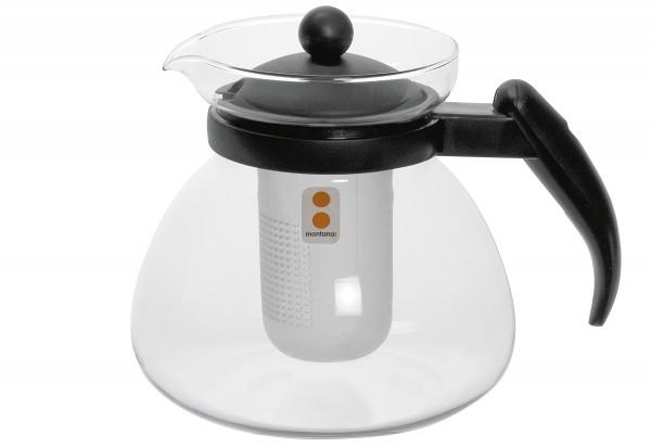 Teekanne :Duo 1500 ml Glas, Kunststoff
