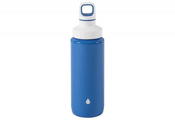 """Trinkflasche """"Drink2go"""" Light Steel"""