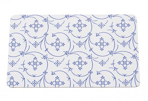 Brettchen Indisch blau 23,5x14,5cm