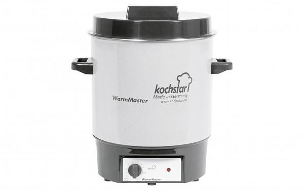 Einkochautomat WarmMaster ohne Uhr 27 l Ø35cm steingrau/weiß