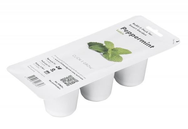 Click & Grow Substratkapsel Pfefferminze 3-er Pack