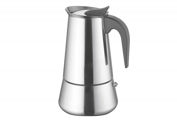 Espressokocher 6 Tassen Edelstahl