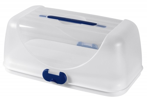 Partybox Basic Superline 35x18cm weiß/blau