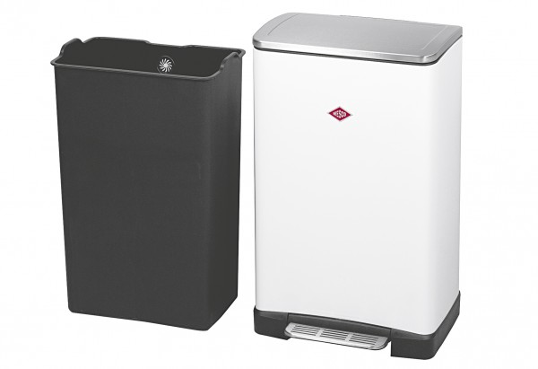 Abfallbehälter One Boy 40 l 40,5x34,5x65cm weiß