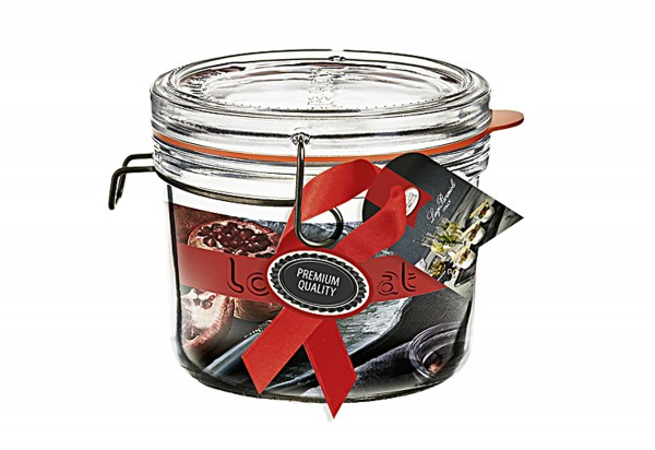 Drahtbügelglas Lock-Eat Einkochwelt 500ml