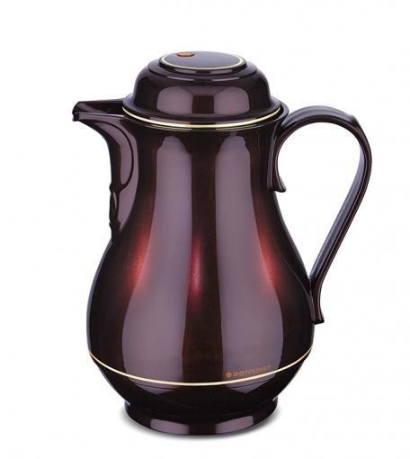 Isolierkanne Coffee-Butler Kunststoff 1 l black cherry