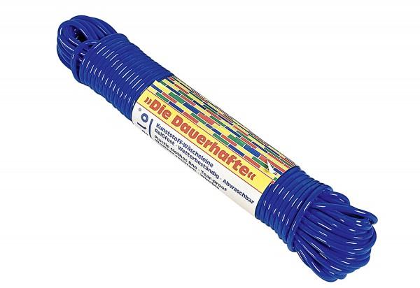 Wäscheleine Plastik 20m Ø4mm farbig sortiert