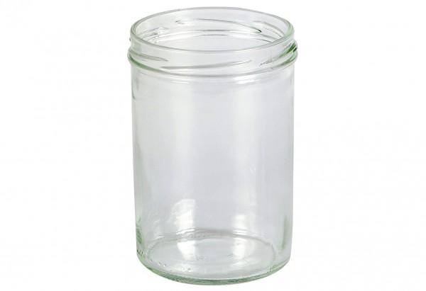 Schraubdeckelglas Sturz 440 ml ohne Deckel 82mm TO