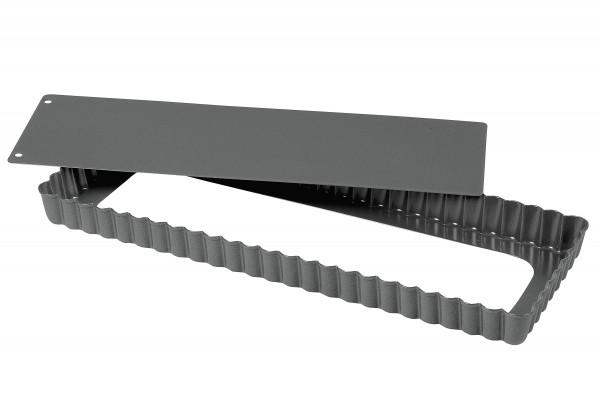 Quiche-/ Obstkuchenform Plus rechteckig 35x13cm