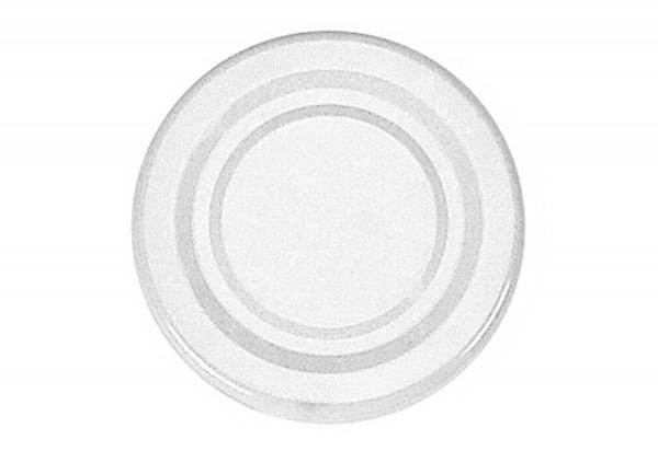 Twist-off Deckel sterilisationsfest Ø53mm weiß