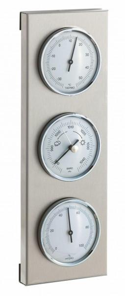 Außenwetterstation Thermometer, Barometer, Hygrometer 280x95xmm