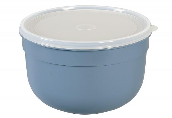 Frischhaltedose Superline Colours 4l rund puderblau