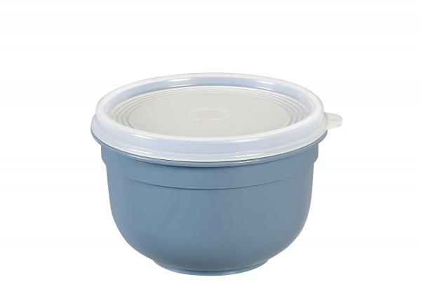 Frischhaltedose Superline Colours 0,6l rund puderblau