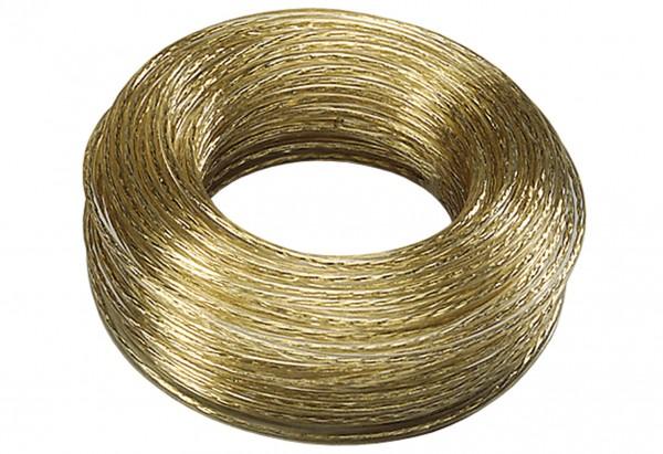 Wäscheleine Kunststoff mit Volldrahteinlage 30m im Ring