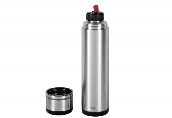 Isolierflasche Mobility 1l schwarz/anthrazit