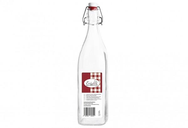 Glasbügelflasche Swing Einkochwelt 1 l