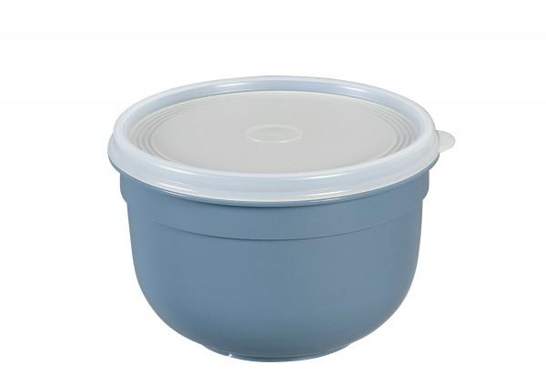 Frischhaltedose Superline Colours 1,25l rund puderblau